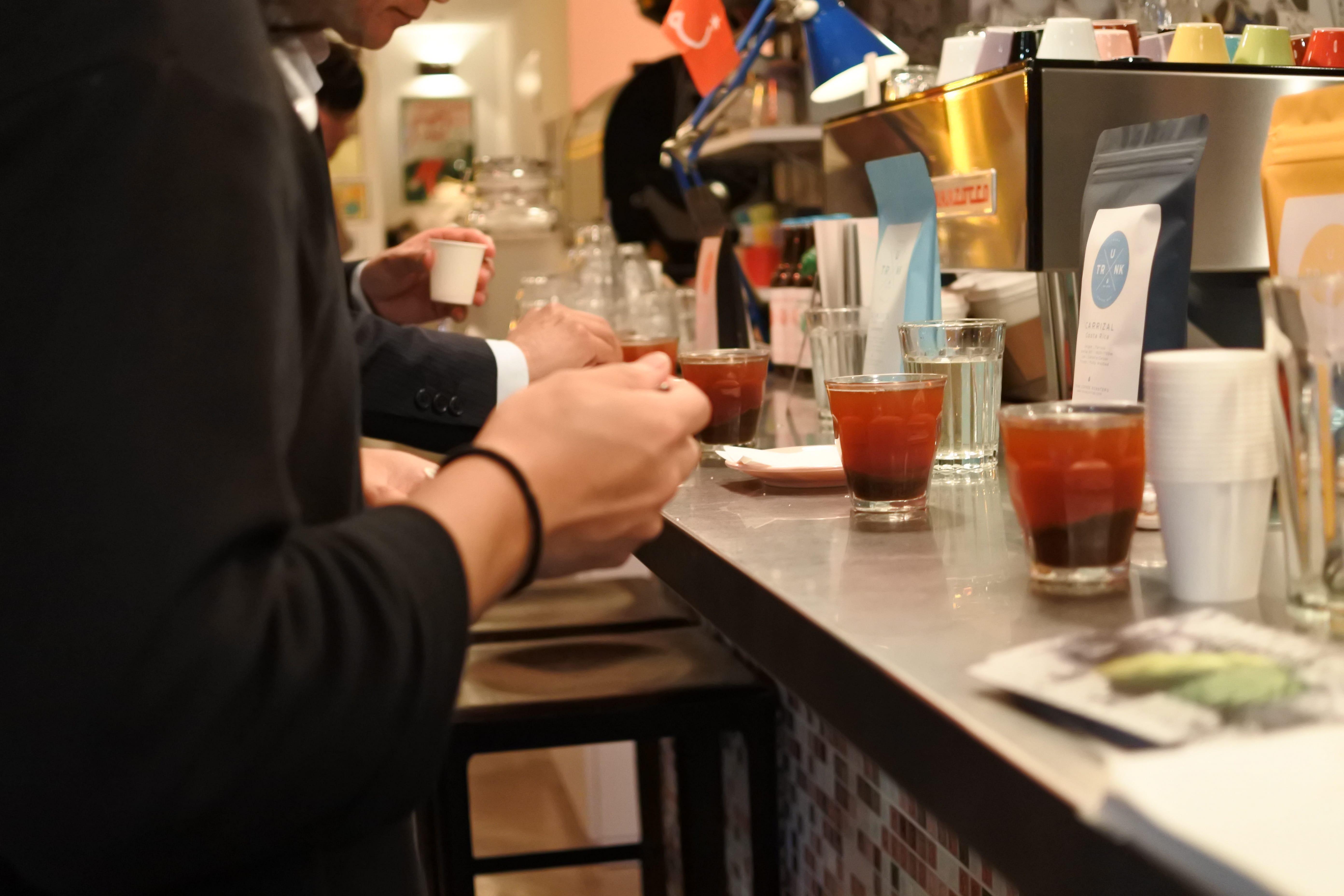 トランクコーヒー trunk coffee カフェ 高岳