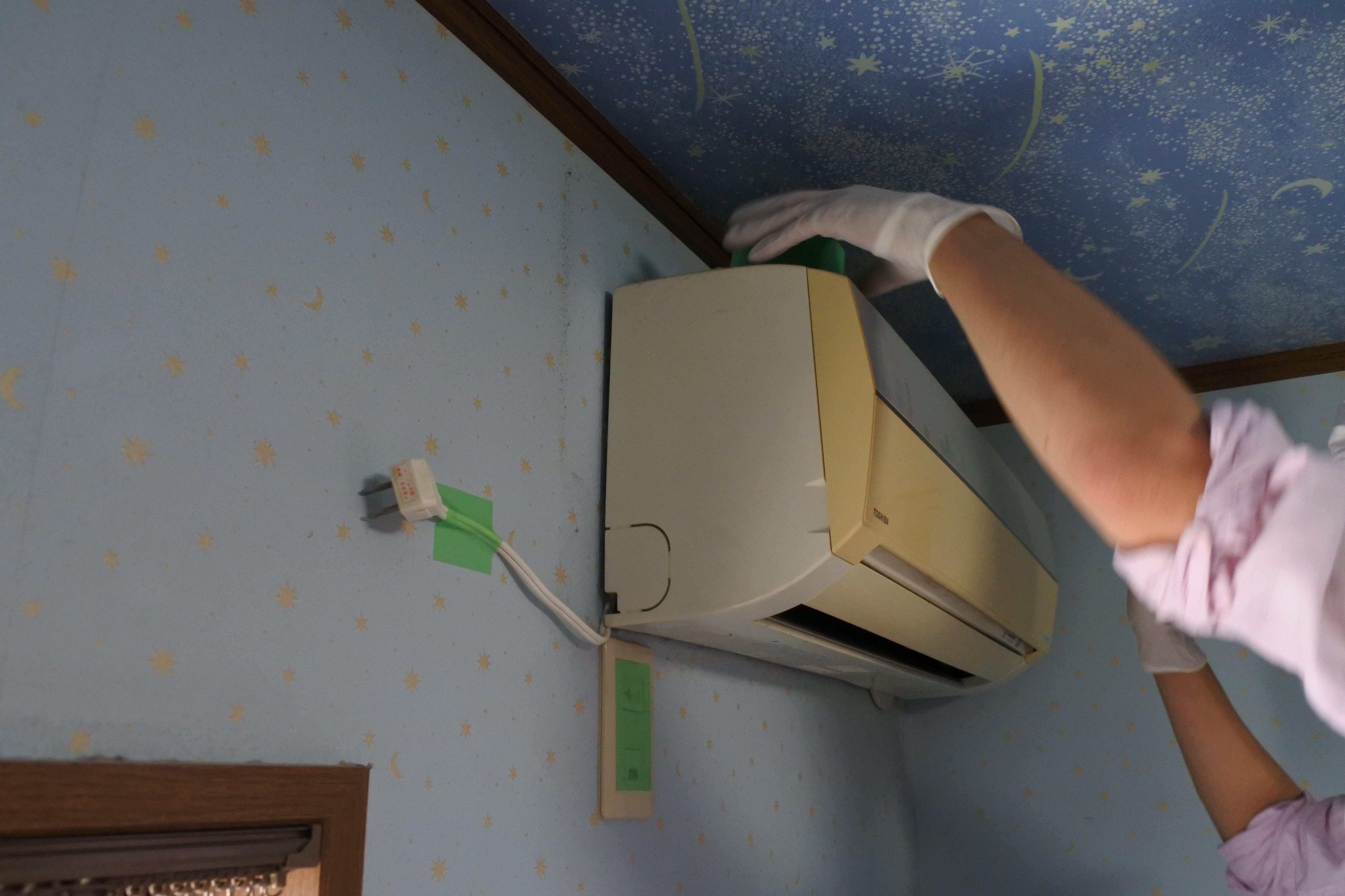 エアコンクリーニング acc カビ 臭い