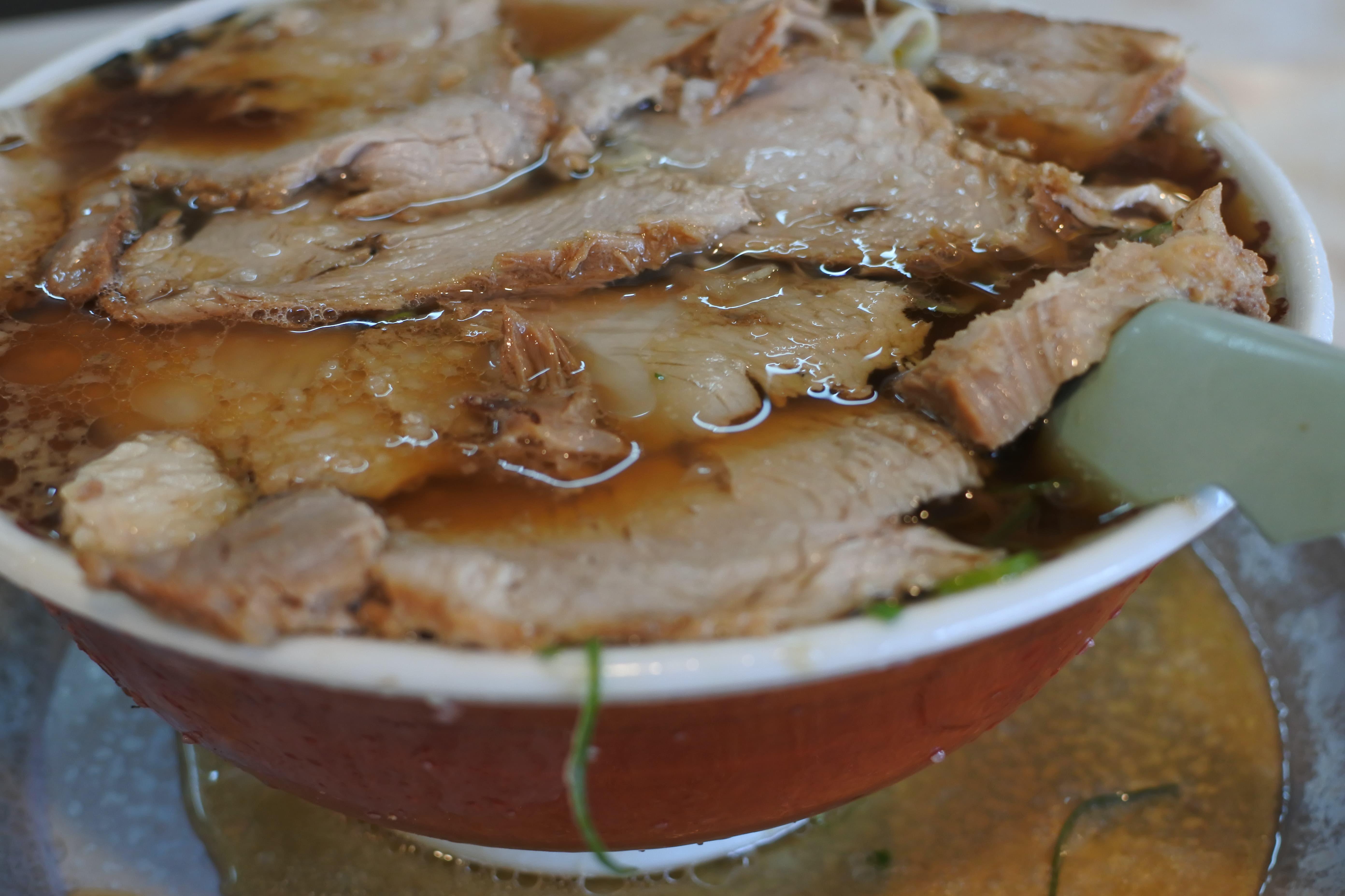 第一旭 ラーメン ロース肉 チャーシュー麺 一宮