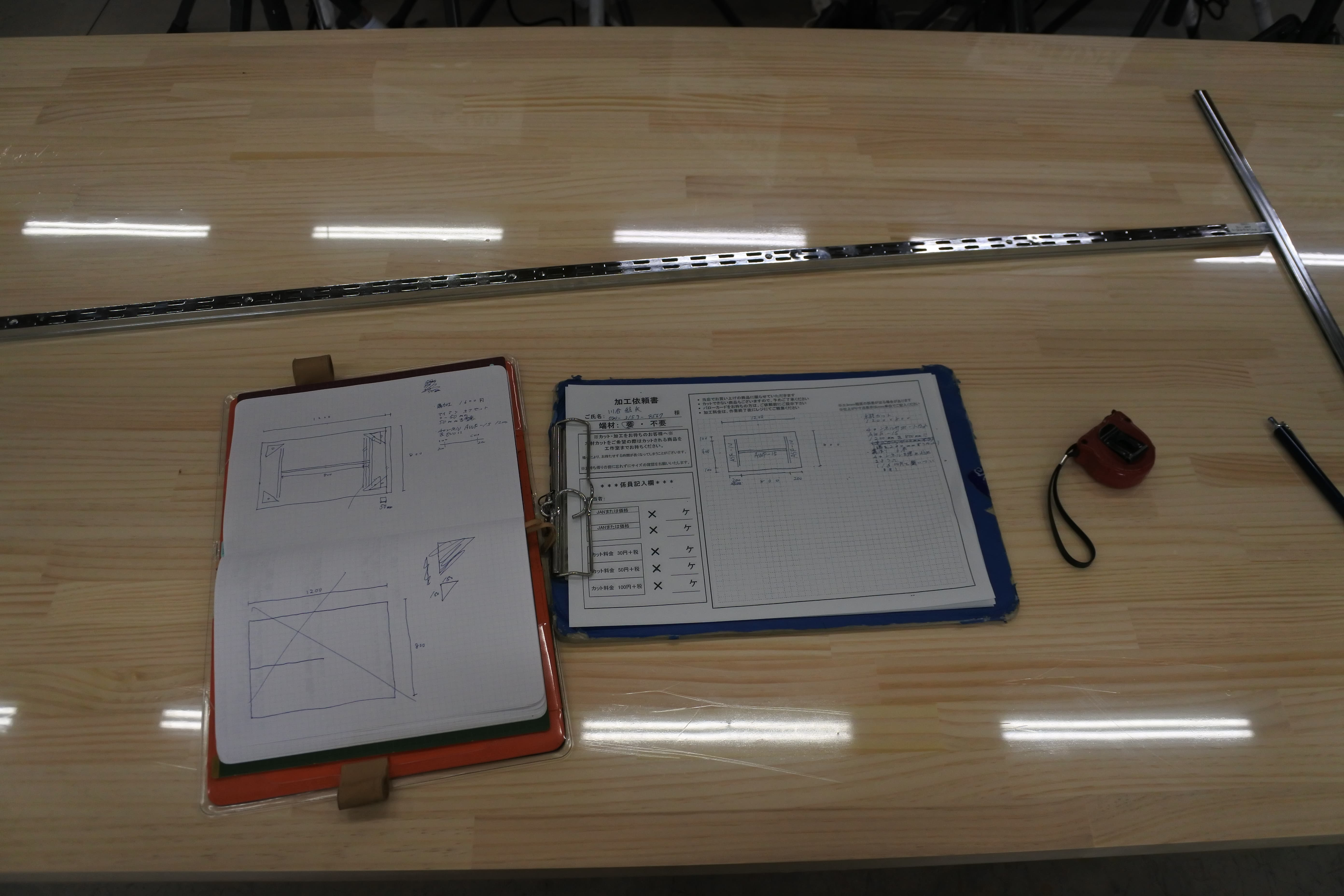 PCデスク 机 DIY 自作 作り方