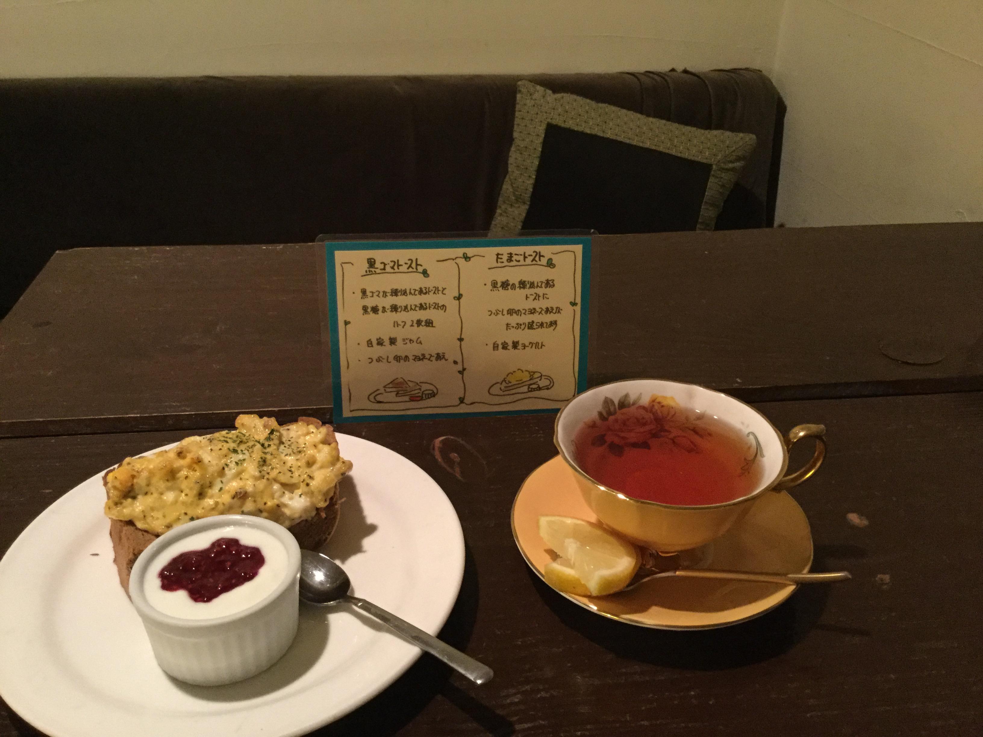 カフェドサラ cafedesara モーニング メニュー