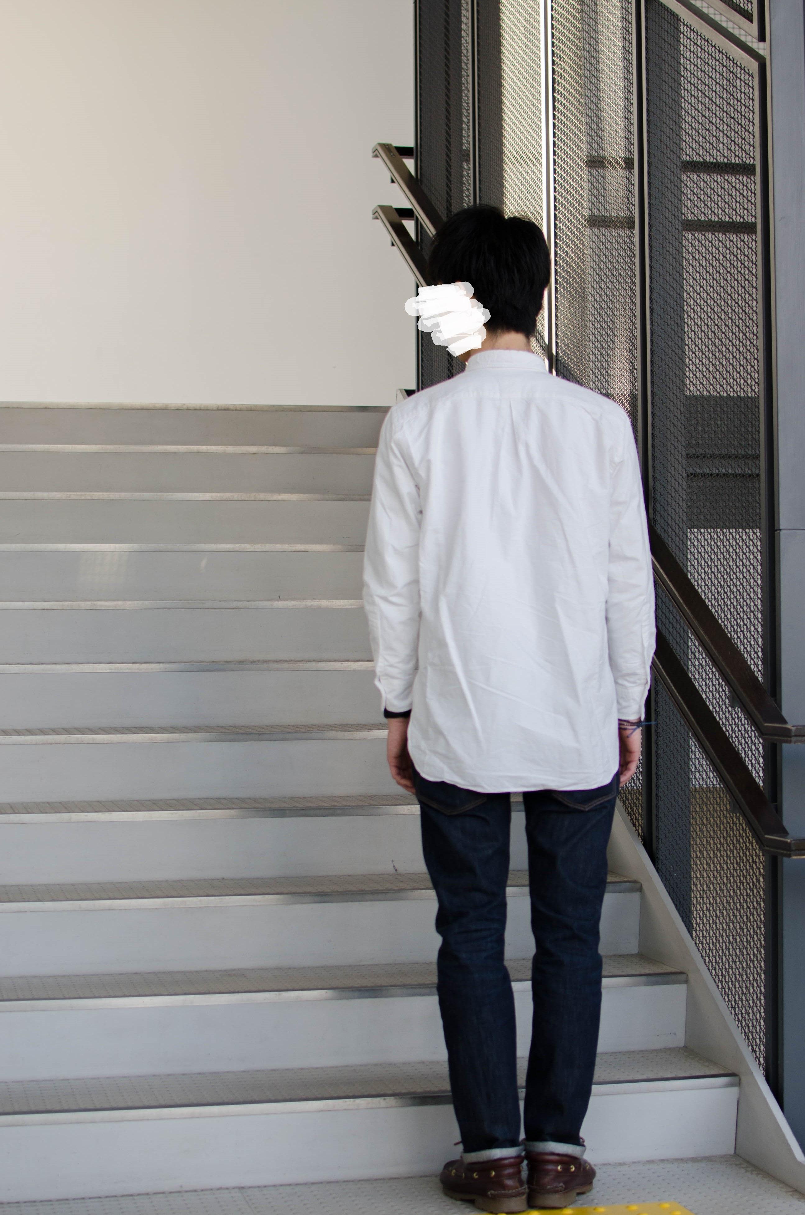 マーカウェア オックスフォードシャツ 白 サイズ 2018aw 2019ss