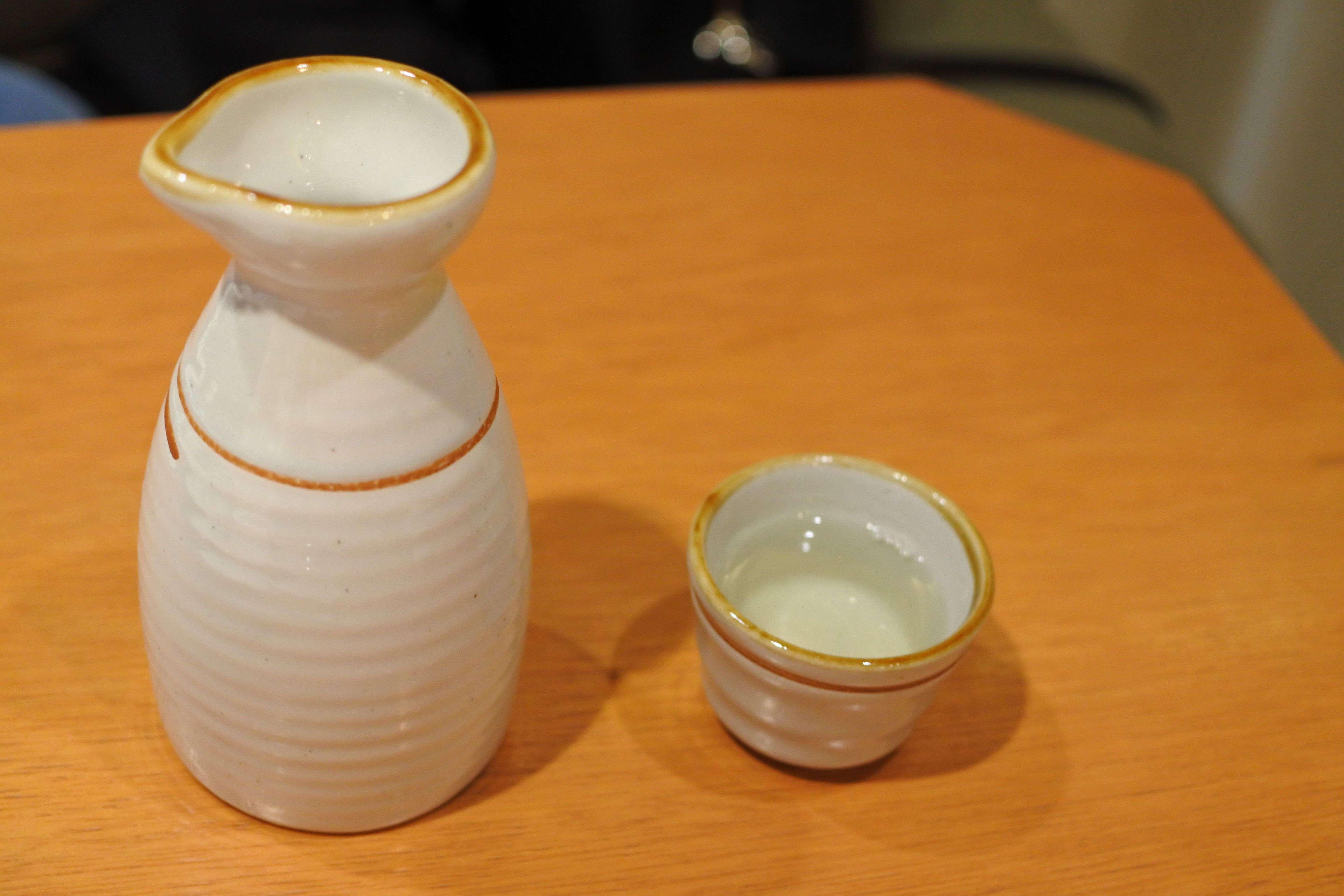 イクジーノカフェ ディナー 日本酒