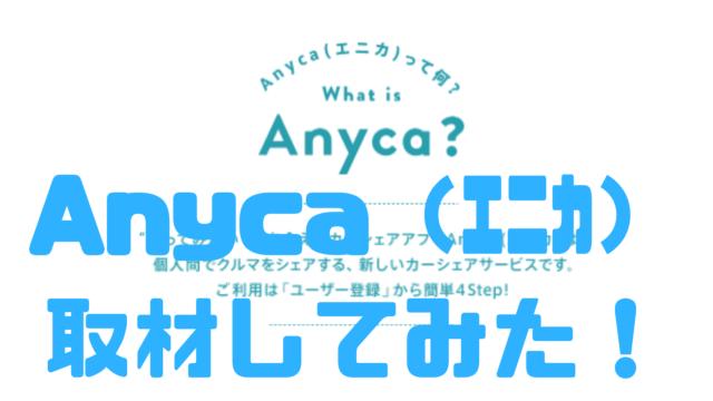 Anyca エニカ トラブル 招待コード 保健 儲かる 事故 料金
