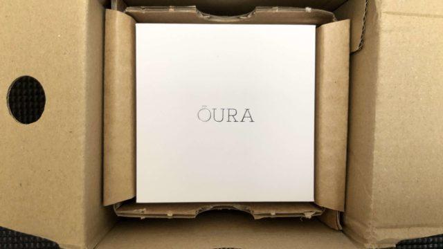 OuraRing(オーラリング) 代引き 1200円 関税 開封