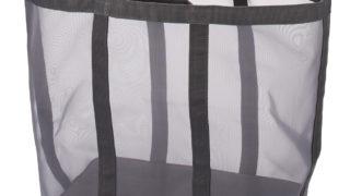 無印良品 ナイロンメッシュランドリーバスケット 洗濯カゴ
