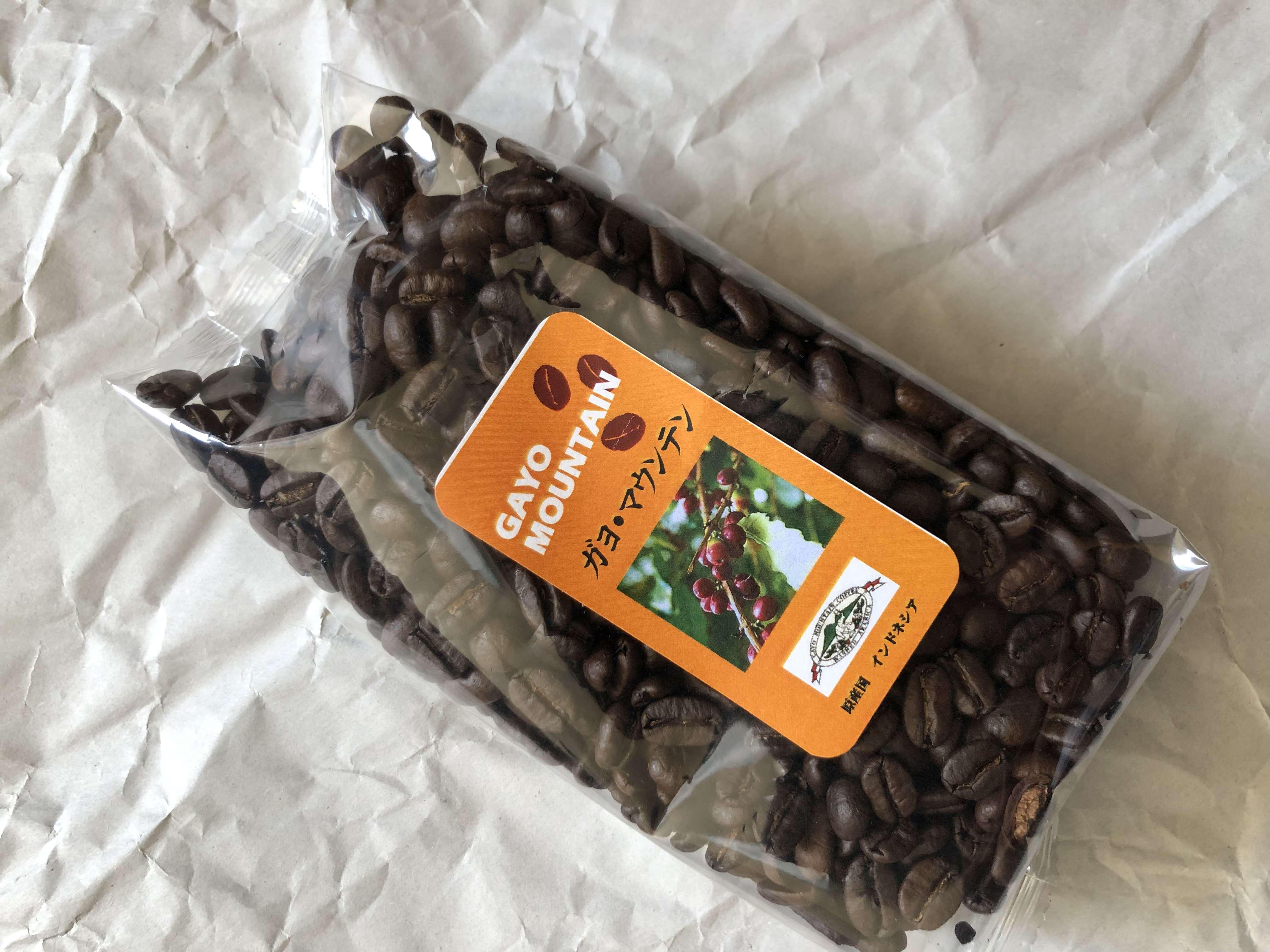 コーヒー 種類 ガヨ・マウンテン インドネシア