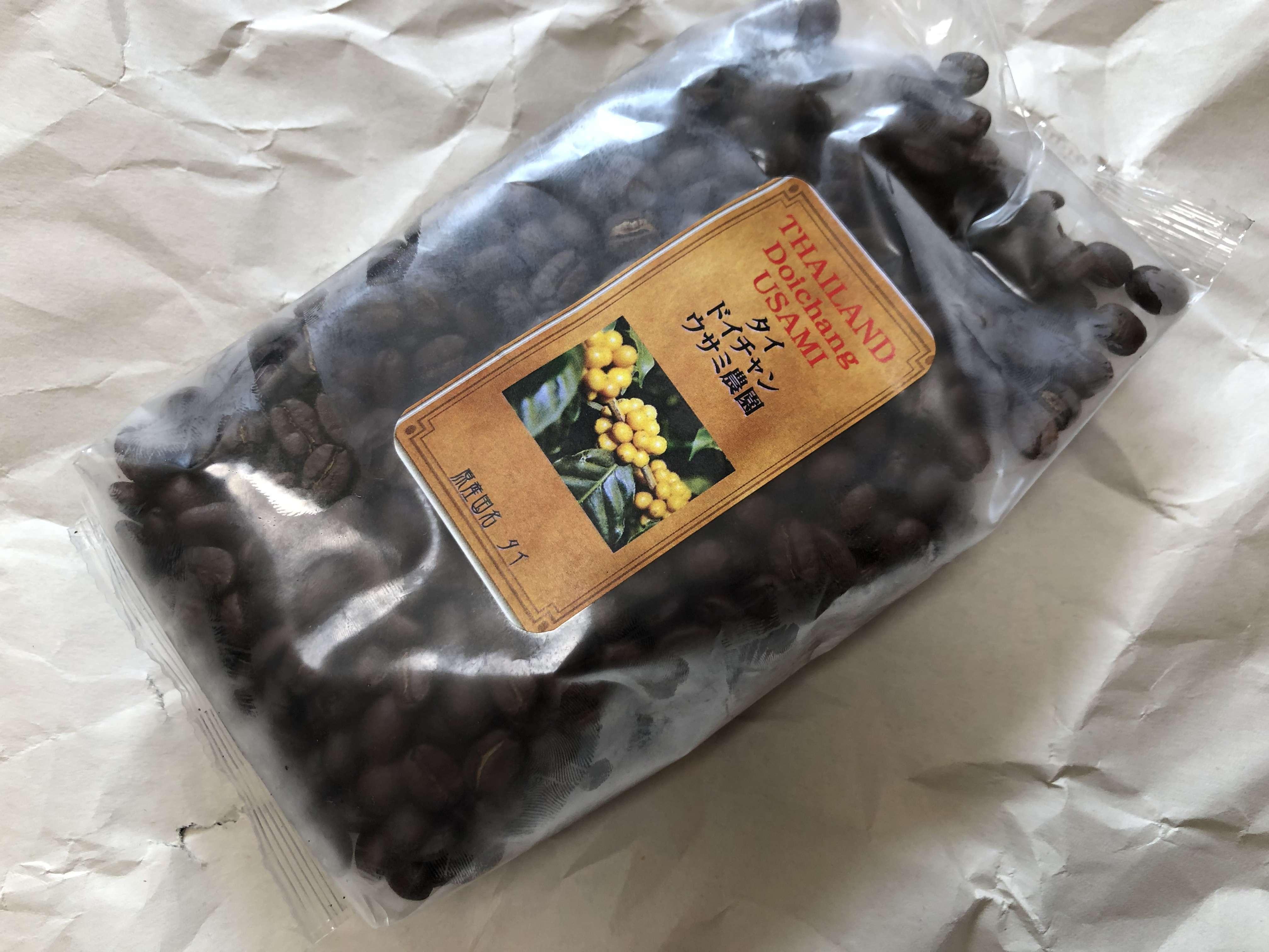 コーヒー 種類 ドイチャンウサミ農園 タイ
