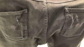 ヌーディージーンズ nudie jeans リペア 破れ直し 無料