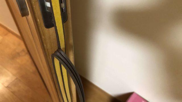 ドア 扉 隙間 テープ 塞ぐ 防音 騒音